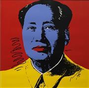 Sale 8696A - Lot 5007 - Andy Warhol (1930 - 1987) - Mao 89.5 x 90cm (frame: 98 x 98cm)
