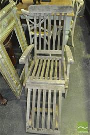 Sale 8337 - Lot 1049 - Timber Deck Chair