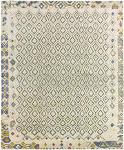Sale 8626A - Lot 10 - A Cadrys Indian Scandi Tribal Handspun Wool Carpet, Size; 300x250cm, RRP;$5100