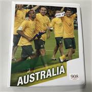 Sale 8863S - Lot 59 - Socceroos Album. Lots of ephemera, and many autographs notably, Rojic, Kewell, Kosmina, Schaeffer, Aloisi, Zelic, a big Johnny Warre...