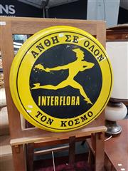 Sale 8817 - Lot 1019 - Vintage Interflora Sign