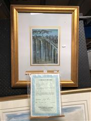 Sale 8819 - Lot 2069 - Richard Florsheim Lithograph