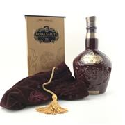 Sale 8842 - Lot 561 - 1x Chivas Brothers 21YO Royal Salute - The Ruby Flagon Blended Scotch Whisky - 40% ABV, 700ml in presentation box