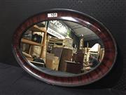 Sale 9051 - Lot 1036 - Oval Mirror