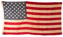 Sale 9122 - Lot 83 - Vintage American Flag (149cm x 81cm)