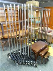 Sale 7943A - Lot 1534B - Set of 3 Adjustable Coat Racks