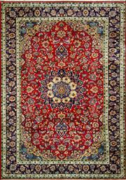 Sale 8321C - Lot 52 - Persian Kashan 350cm x 247cm RRP $5000