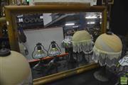 Sale 8368 - Lot 1070 - Timber Framed Mirror w Bevel