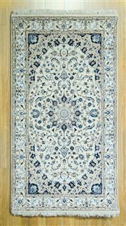 Sale 8589C - Lot 25 - Indo Nain Silk Inlay, 166x91