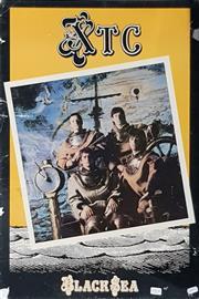 Sale 8705 - Lot 1014 - Vintage XTC Band Poster