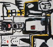 Sale 8794A - Lot 5017 - David Scott Larwill (1956 - 2011) - Untitled 90 x 100.5cm