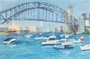 Sale 8791A - Lot 5052 - Annie Pavlovic - Sydney Harbour Bridge, 2006 61 x 91.5cm