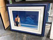 Sale 8789 - Lot 2101 - Pair of Decorative Prints after John Scott, 56 x 71cm (frame size each)