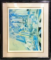 Sale 8949 - Lot 2067 - Charles Billich Celebrate with Sydney print ed. 63/500, 100 x 117cm (frame), signed lower right
