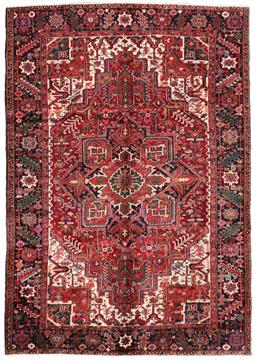 Sale 9123J - Lot 45A - Fine Persian Natural Dye Heriz c1950 rug. Fully colour matured. 350 x 240cm
