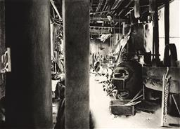 Sale 9252A - Lot 5027 - HERTHA KLUGE POTT (1934 - ) Industrial Work Shop etching, ed. 17/30 (mounted/unframed) 76 x 101.5 cm signed lower right