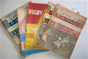 Sale 8404S - Lot 36 - 1965 Rugby League News Programmes - Vol. 46, Nos. 1 & 2 (Craven Cup) 6, 7, 8, 12, 13, 14, 16, 20, 24, 26, 29