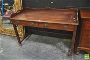 Sale 8418 - Lot 1006 - Oriental Style Desk w Raised Back