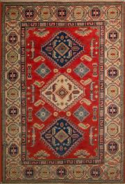 Sale 8447C - Lot 55 - Afghan Kazak 150cm x 102cm
