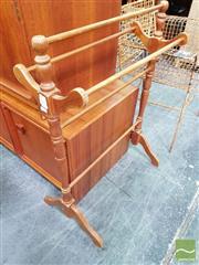 Sale 8480 - Lot 1096 - Timber Towel Rail