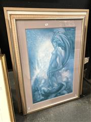 Sale 8789 - Lot 2081 - 3 Gallery Frames with Decorative Prints