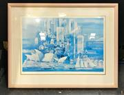 Sale 8949 - Lot 2068 - Charles Billich Sydney Symphony print ed. 217/500, 97 x 125cm (frame), signed lower right