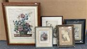Sale 9011 - Lot 2088 - A group of assorted early engravings, photographs and frames -