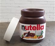 Sale 9071 - Lot 1049 - Large Faux Tub of Nutella (h:51 x w:36 x d:36cm)