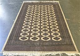 Sale 9108 - Lot 1068 - Blue, cream & beige tone hand-knotted persian carpet ( 183 x 270cm)