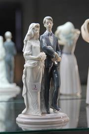 Sale 8340 - Lot 3 - Lladro Figure Group Mazel Tov