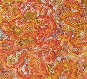 Sale 8449A - Lot 581 - Lynette Corby Nungurrayi (1958 - ) - Rock Holes 88 x 96cm