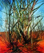 Sale 8753A - Lot 5037 - Kevin Charles (Pro) Hart (1928 -2006) - Locusts & Reeds, 1973 60 x 49cm