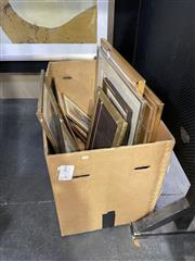 Sale 8906 - Lot 2053 - Box of Assorted Framed Decorative Prints incl. signed Charles Billich and Willmotte Williams editioned prints, Box not included