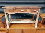Sale 8930 - Lot 1072 - Vintage Cane Hall Table