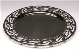 Sale 9114 - Lot 10 - An Alessi stainless dish (Dia:40cm)