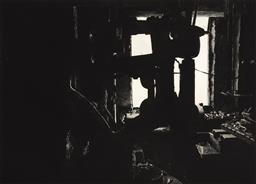 Sale 9252AD - Lot 5087 - HERTHA KLUGE POTT (1934 - ) - Industrial Work Shop V 76 x 101.5 cm