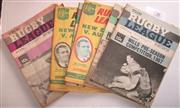 Sale 8404S - Lot 38 - 1967 Rugby League News Programmes - Vol. 48, Nos. 3 (Wills Cup) 8, 14, 15, 19, 22 (Australia v New Zealand), 26, 27 (Australia v New...