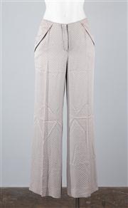 Sale 8685F - Lot 19 - A pair of Emporio Armani dove-grey straight-legged pants, size IT. 42