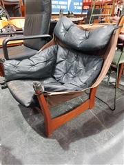 Sale 8723 - Lot 1080 - Sling Chair by Ingmar Rolling