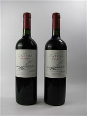 Sale 8313 - Lot 489B - 2x 2008 Bodega Catena Zapata Malbec, Mendoza