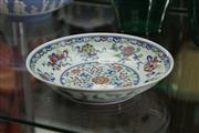 Sale 8322 - Lot 78 - Famille Rose Plate Marks to Base