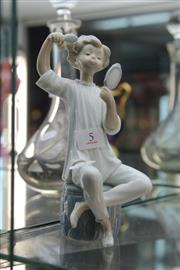 Sale 8340 - Lot 5 - Lladro Figure of a Grooming Lad