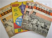 Sale 8404S - Lot 39 - 1968 Rugby League News Programmes - Vol. 49, Nos. 9, 19, 24 (Great Britain v New Zealand), 36