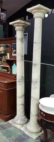 Sale 8462 - Lot 1007 - Two Similar Columns