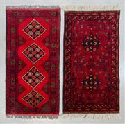 Sale 8472C - Lot 70 - 2 x Afghan Khal Mohamadi 90cm x 60cm