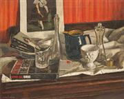 Sale 8526 - Lot 525 - Alan Douglas Baker (1914 - 1987) - Still Life 44 x 54.5cm