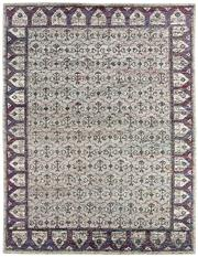 Sale 8697A - Lot 85 - A Cadrys Sari Silk Indian Sari Silk Mosaic Design Rug, 365 x 275cm, RRP $3250