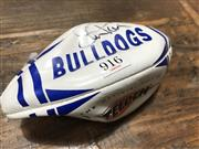 Sale 8863S - Lot 61 - Bulldogs Mini-Football, signed by Steve Price.