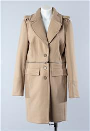 Sale 8800F - Lot 63 - An Armani Exchange wool blend coat in beige, size L