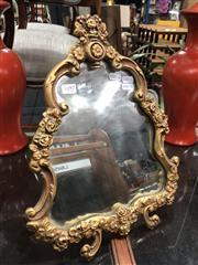 Sale 8822 - Lot 1697 - Ornate Gilt Framed Desk Mirror